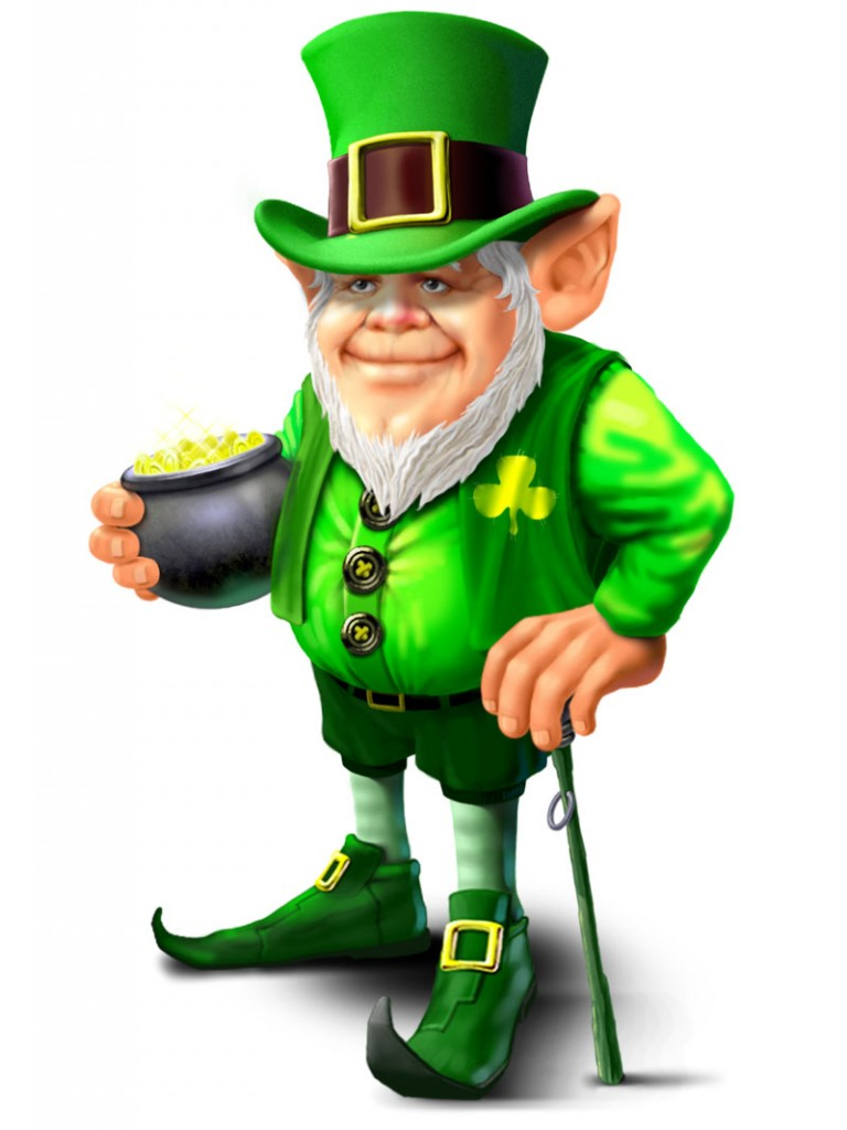 In Irish folklore, a leprechaun is an imaginary creature that looks like a little old man. You could search forever in Ireland, but you'd never find a leprechaun. COBUILD Advanced English Dictionary.